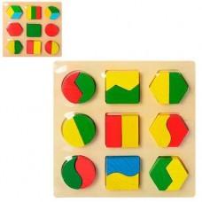 Дереьвяна игрушка Геометрика MD 0716