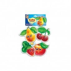 Бэби пазлы фрукты