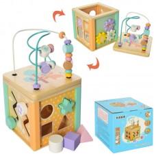 Деревяная игрушка развивающий центр