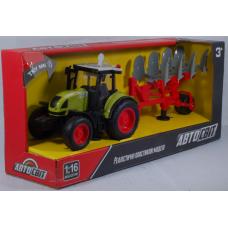 Трактор АвтоМир, инерции.